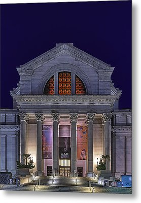 Night At The Museum Metal Print by Metro DC Photography
