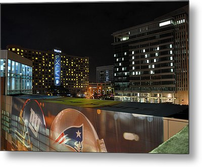 Night Before Super Bowl Xlvi Metal Print by Brittany H