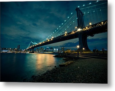 Night Reflections Metal Print by Jonatan Martin
