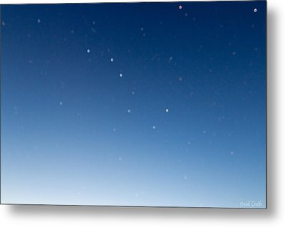 Night Sky Metal Print by Heidi Smith