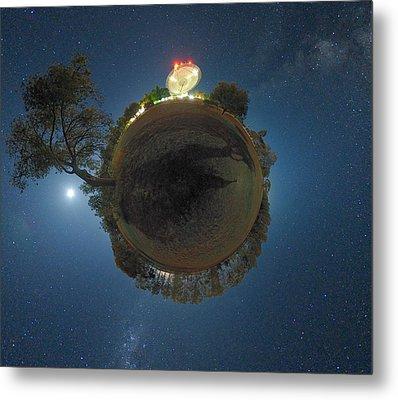 Night Sky Over Parkes Observatory Metal Print by Alex Cherney, Terrastro.com