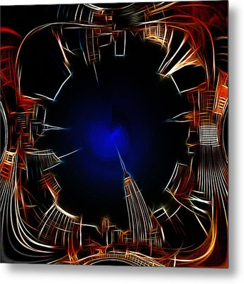 Night View Metal Print by Stefan Kuhn