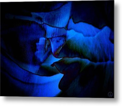 Nightly Blues Metal Print by Gun Legler