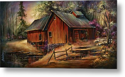 North Country Metal Print by Michael Lang