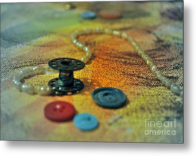 Notions Metal Print by Gwyn Newcombe