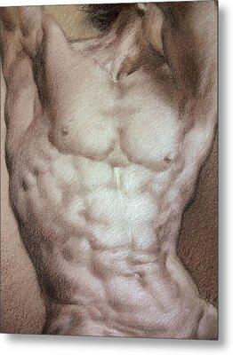 Nude 9 B Metal Print by Valeriy Mavlo