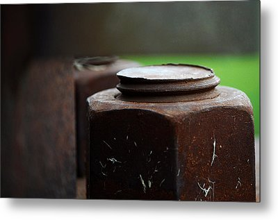 Nuts And Bolts Metal Print by Lisa Phillips
