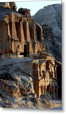 Obelisk Tomb & Bab Al Siq Triclinium Metal Print by Joe & Clair Carnegie / Libyan Soup