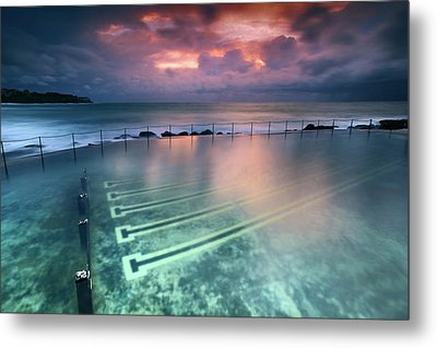 Ocean Baths Metal Print by Yury Prokopenko