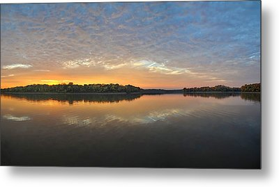 October Sky Metal Print by Brian Mollenkopf