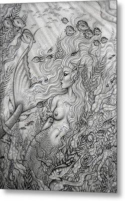 Octopus's Garden Metal Print by Leon Atkinson