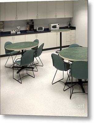 Office Break Room Metal Print by Will & Deni McIntyre