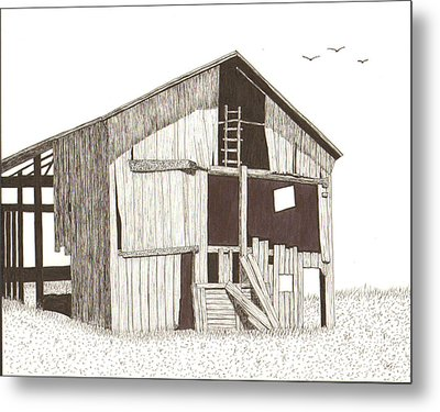 Ohio Barn Metal Print by Pat Price