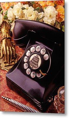 Old Bell Telephone Metal Print by Garry Gay