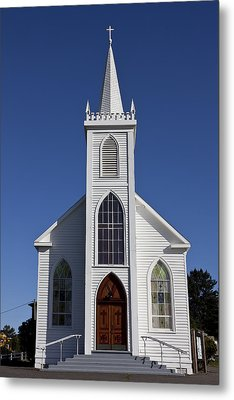 Old Bodega Church Metal Print by Garry Gay
