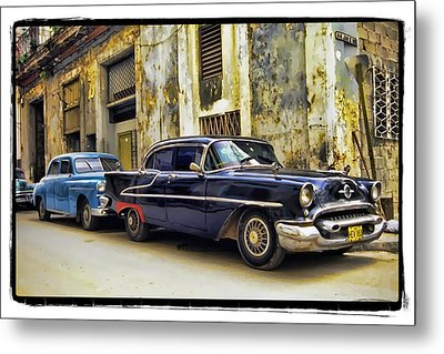 Old Car 1 Metal Print by Mauro Celotti