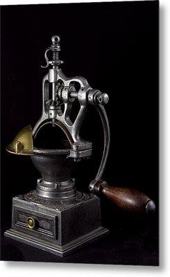 Old Coffee Machine Metal Print by Zafer GUDER