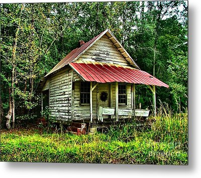 Old Florida Vi Metal Print by Julie Dant
