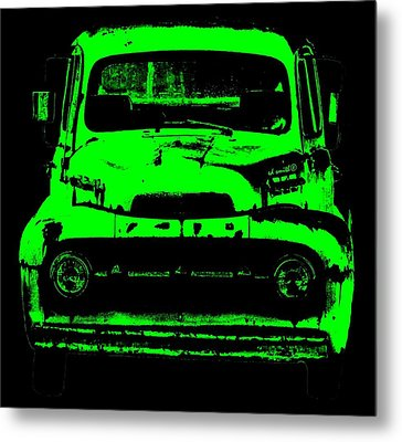 Old Ghost Metal Print by Ed Smith