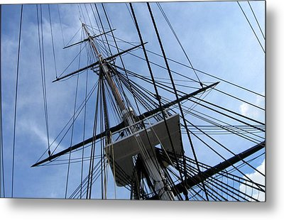 Old Ironsides Metal Print by Anne Babineau
