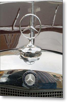 Old Mercedes Logos Metal Print by Odon Czintos