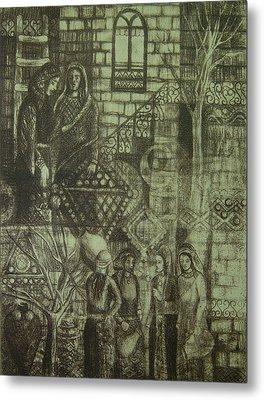 Old Oriental Story Metal Print by Ousama Lazkani
