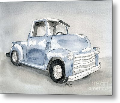 Old Pick Up Truck Metal Print by Eva Ason