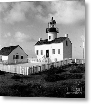Old Point Loma Lighthouse Metal Print by Dean Robinson