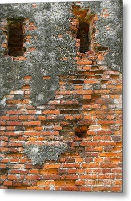 Old Ruins Metal Print by Yali Shi