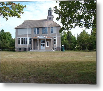 Old School Metal Print by Bonfire Photography