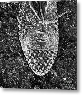 Old Shoe Metal Print by Bernard Jaubert