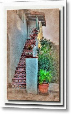 Old Town Stairs Metal Print by Frank Garciarubio