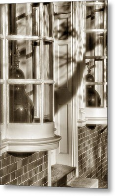 Old Town Windows Metal Print by Steven Ainsworth