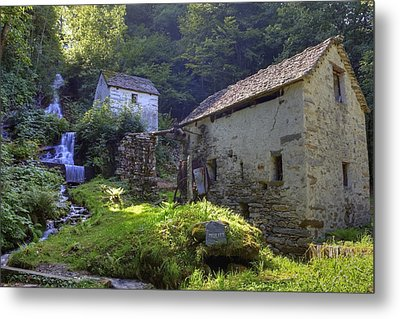 Old Watermill Metal Print by Joana Kruse