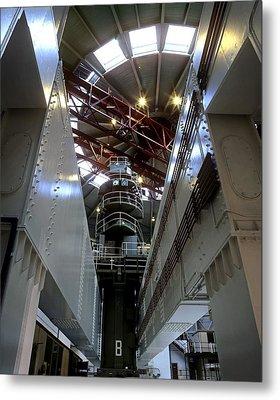 Oldbury Nuclear Power Station Metal Print by Martin Bond