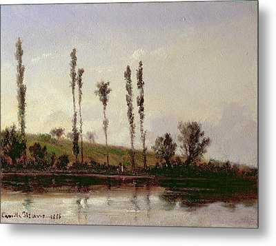On The Outskirts Of Paris Metal Print by Camille Pissarro