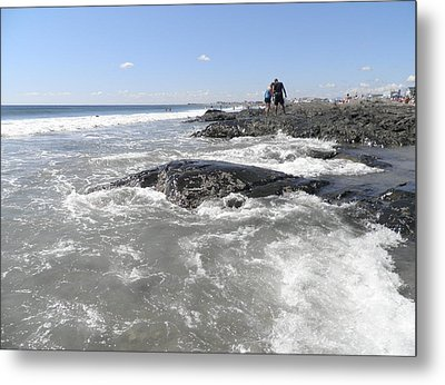 On The Rocks Metal Print by Kate Gallagher