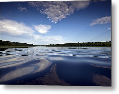 On The Water Metal Print by Gary Eason