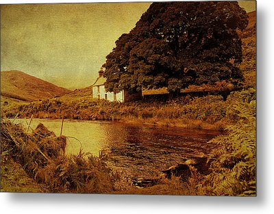 Once Upon A Time. Somewhere In Wicklow Mountains. Ireland Metal Print by Jenny Rainbow