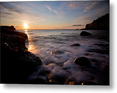 One And The Same In Maine Metal Print by Chad Tracy