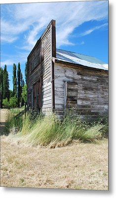 Oregon Ghost Town Metal Print by Jen Bodendorfer