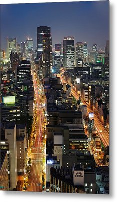 Osaka Metal Print by Photo by ball1515