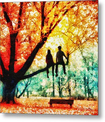 Our Spot Metal Print by Mo T