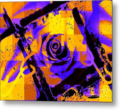 Out Of The Box Expression Metal Print by Fania Simon