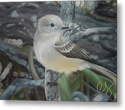 Out On A Limb Metal Print by Estephy Sabin Figueroa