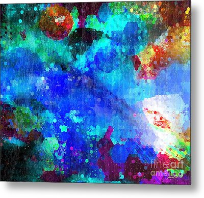 Out There In Beijing China Metal Print by Fania Simon