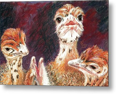 Outsdoorn Babes Metal Print by Vicki Ross