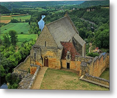 Overlooking The French Countryside Metal Print by Dave Mills