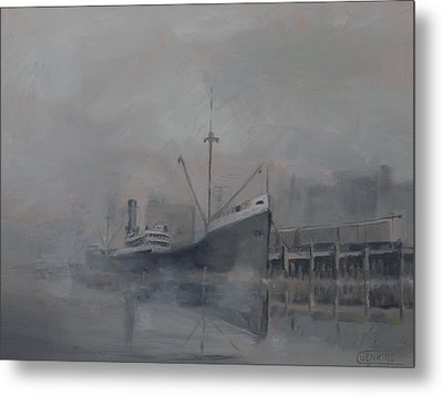 Pacific Trader Metal Print by Christopher Jenkins