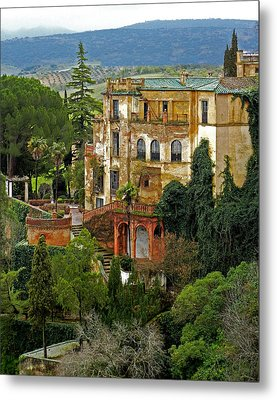 Palace Of The Arabian King - Ronda Metal Print by Juergen Weiss